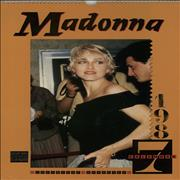 Click here for more info about 'Madonna - 1987 Calendar'