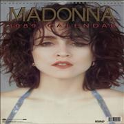 Click here for more info about 'Madonna - 1989 Calendar'