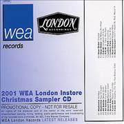 Click here for more info about 'Madonna - 2001 WEA London Instore Christmas Sampler CD'