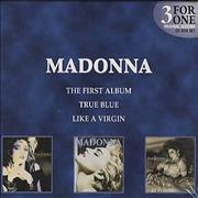 Click here for more info about 'Madonna - 3 For One - blue slipcase'
