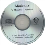 Click here for more info about 'Madonna - 4 Minutes - The Rauhofer World Remixes'