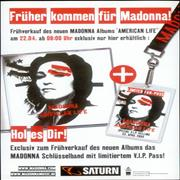 Click here for more info about 'Madonna - American Life - Fan-Pass'
