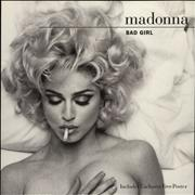 Click here for more info about 'Madonna - Bad Girl + Poster'