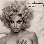 Click here for more info about 'Madonna - Bad Girl - Injection Moulded + Glossy card sleeve'