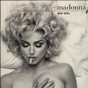 Click here for more info about 'Madonna - Bad Girl - Paper Labels + Glossy Sleeve'