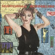 Click here for more info about 'Madonna - Borderline - 1986 issue + Big logo'