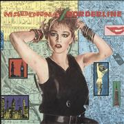 Click here for more info about 'Madonna - Borderline - 1986 issue + Small logo'