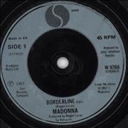 Click here for more info about 'Madonna - Borderline - Teal injection moulded'