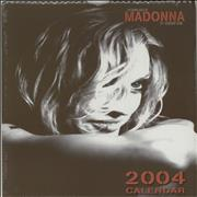 Click here for more info about 'Madonna - The Many Faces Of Madonna - Calendar 2004 - Sealed'