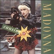 Click here for more info about 'Madonna - Causing A Commotion - Yellow Paper Label & Paper Sleeve'