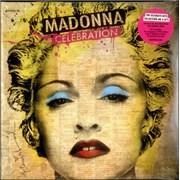Madonna Celebration - Sealed USA 4-LP vinyl set