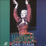 Click here for more info about 'Madonna - Ciao Italia - Live From Italy'