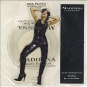 Click here for more info about 'Madonna - Crazy For You + Plinth + Insert'