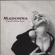 Click here for more info about 'Madonna - Crazy For You - Yellow label & Card Sleeve'