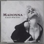 Click here for more info about 'Madonna - Crazy For You'