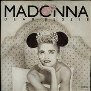 Click here for more info about 'Madonna - Dear Jessie - Poster Sleeve - EX'