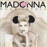 Click here for more info about 'Madonna - Dear Jessie - Yellow Labels & Paper Sleeve'