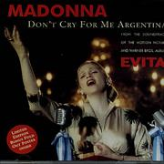 Click here for more info about 'Don't Cry For Me Argentina - Poster Sleeve'