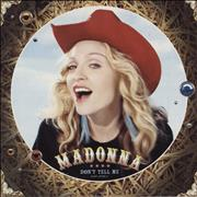 Click here for more info about 'Madonna - Don't Tell Me'