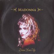 Click here for more info about 'Madonna - Dress You Up - Injection label + Paper sleeve'