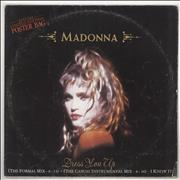 Click here for more info about 'Madonna - Dress You Up - Poster Sleeve - VG'