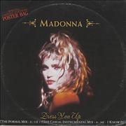 Click here for more info about 'Madonna - Dress You Up - Poster Sleeve - EX'