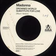 Click here for more info about 'Madonna - Drowned World / Substitute For Love - Jukebox'
