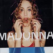 Click here for more info about 'Madonna - Drowned World (Substitute For Love)'