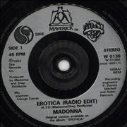 Click here for more info about 'Madonna - Erotica - Injection moulded'