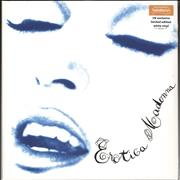 Click here for more info about 'Madonna - Erotica - White vinyl - Sainsbury's'