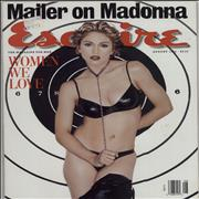 Click here for more info about 'Madonna - Esquire - August 1994'
