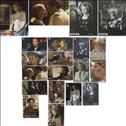 Click here for more info about 'Madonna - Evita - Rare set of 16 unused phone cards + folders'