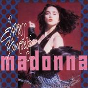Click here for more info about 'Madonna - Express Yourself - Yellow Label & Picture Sleeve'