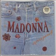Click here for more info about 'Madonna - Express Yourself - Zipper Sleeve'