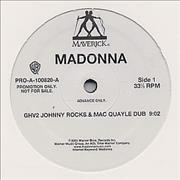 Click here for more info about 'Madonna - GHV2 Megamix - Johnny Rocks'