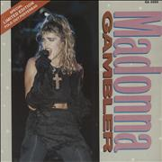 Click here for more info about 'Madonna - Gambler - Poster Sleeve - EX'