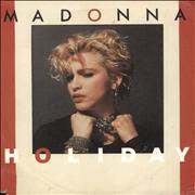 Click here for more info about 'Madonna - Holiday - EX'