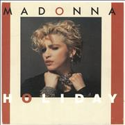 Click here for more info about 'Madonna - Holiday - UK Issue pressed in Germany'