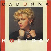 Click here for more info about 'Madonna - Holiday - UK Issue pressed in Germany - EX'