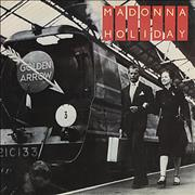 Click here for more info about 'Madonna - Holiday - Train sleeve - EX'