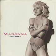 Click here for more info about 'Madonna - Holiday 91 - EX'