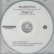 Click here for more info about 'Madonna - Hung Up'