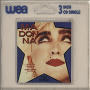 """Madonna Into The Groove - Sealed Blister Pack Germany 3"""" CD single"""