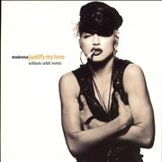 Click here for more info about 'Madonna - Justify My Love - Barcoded labels'