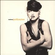 """Madonna Justify My Love - Injection + Card Sleeve France 7"""" vinyl"""