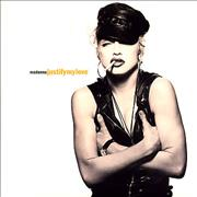 Click here for more info about 'Justify My Love - Yellow Sire label & Glossy Sleeve'