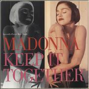 Click here for more info about 'Madonna - Keep It Together - EX'