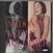 Click here for more info about 'Madonna - Keep It Together - Sealed'