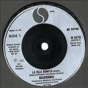 Click here for more info about 'Madonna - La Isla Bonita - Injection'