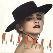 """Madonna La Isla Bonita - Jukebox + Sleeve UK 7"""" vinyl"""